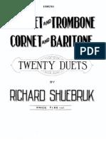 Twenty Duets-Richard Shuebruk