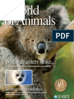 "International Fund for Animal Welfare's - ""World of Animals"" - Issue 1"