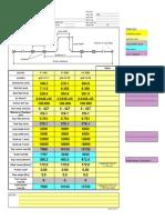 Load Calculation Sheet at Expansion Loops
