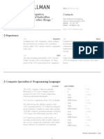 LaTeX Linux CV Template