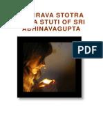 130562424 Bhairava Stotra Shiva Stuti of Sri Abhinavagupta