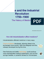 Medicine and the Industrial Revolution
