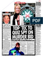 Top PSNI Cop, Karen Baxter, and other corrupt, Bent, cops within Police Service of Northern Ireland (PSNI)  are behind cover-up in the Martin McGartland PIRA kidnapping case.  Each of them refuse to investigate former British Agent, Martin McGartland's, PIRA kidnapping Karen Baxterand PSNI are protecting convicted PIRA terrorists (McGartland's kidnappers).  Compelling evidence has been concealed by PSNI cops, the PPS are also party to the cover-upo and corruption.  Bothg Martin McGartland's kidnappers, Jim 'Tout' McCartht (CRJ Belfast) and Paul 'Chico' Hamilton (also a Tout) are being protected by the State. Both are also convicted PIRA terrorists.