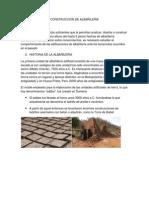 Construcción de albañilería