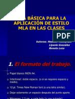 MLA Spanish