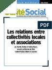 analyse des Relations entre collectivités locales et association