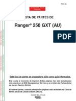 Manual Partes Lincoln 250 GXT