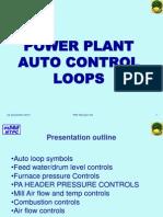 Power Plant Auto Control Loop