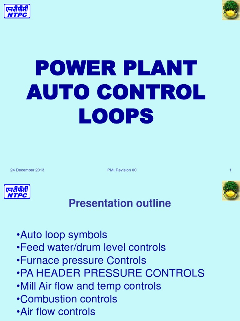 Power Plant Auto Control Loop