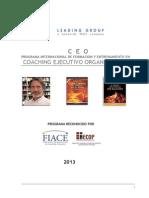 Certificación en Coaching Ejecutivo y Organizacional 2013 (2)