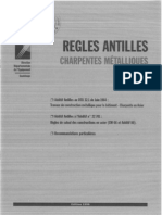 Règles Antilles - Charpentes métalliques - Edition 1996