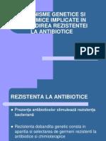 Mecanisme Genetice Si Biochimice Implicate in Dobandirea Rezistentei