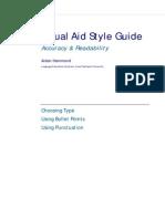 Visual Aid Type Styleguide