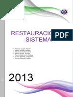 Restauracion de Sistemas Informe