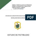 Estudio de Factibilidad Escolarizado (1)