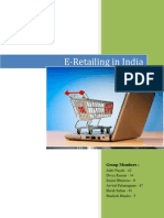 E-Retailing in India