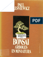 Bonsai - Árboles en miniatura
