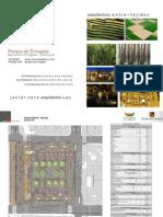 Presentación de la remodelación del Parque Envigado