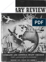 Military Review December 1949