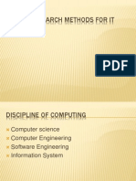 Researh Methods for IT