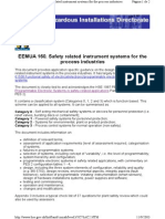 HSE - EEMUA 160. Safety Related Instrument Systems Forthe Process Industries