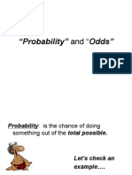 2-6 Probability vs. Odds