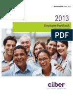 Employee Handbook 2013