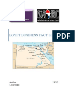 Egypt Business Fact Sheet