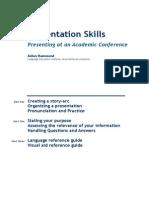 Academic Presenting Manual
