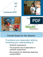The Heart of Authentic Assessment Pptx
