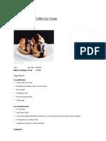 Profiteroles Recipe