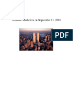 Affiliate Marketers on September 11, 2001