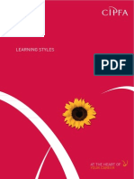 Learning Styles - CIPFA