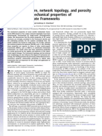Chemical Structure, Network Topology, And Porosity Effects on the Mechanical Properties of Zeolitic Imidazolate Framework