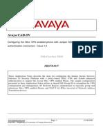 Configuring Avaya 9600 Series Phones With Juniper SSG 20