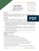 Exemplo de Plano de Ensino - Antropologia 3