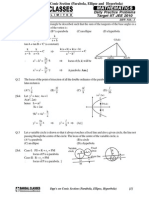 Conic Section Dpp