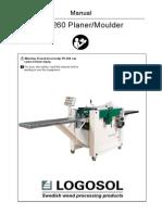 Logosol Ph260 Manual