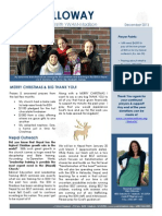 Christmas- Nepal Newsletter (Dec 2013)