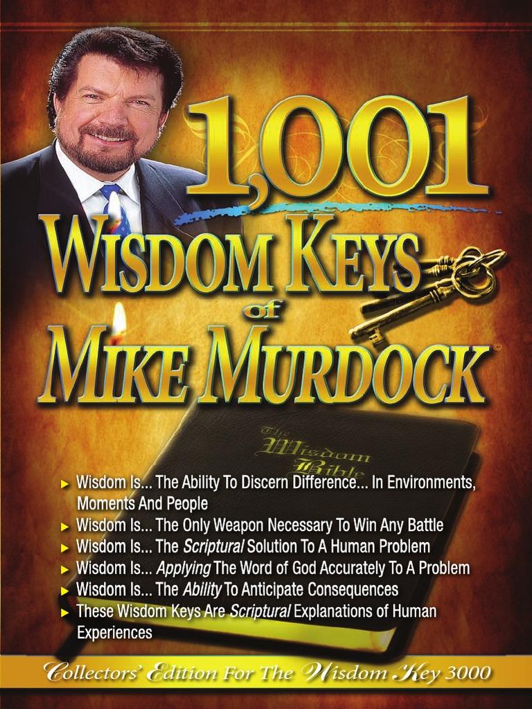 1001 wisdom keys of mike murdock wisdom faith fandeluxe Choice Image