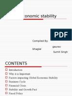 Global Economic Stability