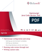 Hammurapi Java Code Review Tool