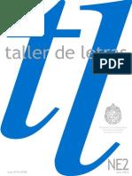 Revista Taller de Letras