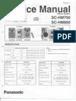 Panasonic Sc Hm700 Sc Hm800