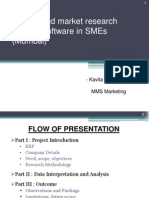 A Study and Market Research on ERP Software in SMEs (Mumbai)