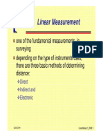 Linear Measurments