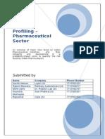 Risk in Pharma Sector