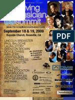 Thriving Musician Summit 2009 - Program