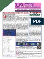 ASTROAMERICA NEWSLETTER DATED NOVEMBER 05, 2013