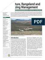 Sustainable Pasture Rangeland & Grazing